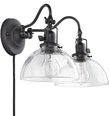 Swing Arm Wall Lamp Fords Mill Double 2 1 4in Pin Up Rejuvenation