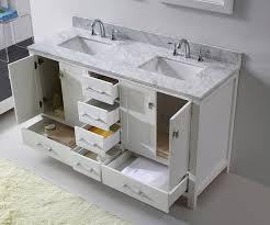 virtu gd 50060 wmsq wh caroline avenue double bathroom vanity
