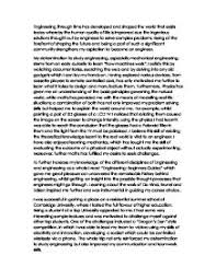 Sample Personal Statement For Graduate School In Chemistry