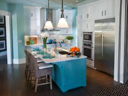 Painting Kitchen Cabinets Two Different Colors Blue Kitchen Alluring Design Ideas Kitchen Cabinets Modern Two