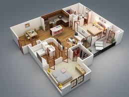 3d Floor Plans by 50 Two