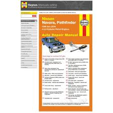 haynes manuals online nissan navara pathfinder d22 supercheap