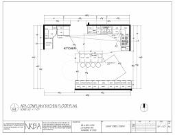 kitchen floor plan ada compliant kitchen floor plan modified