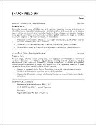 Sample Rn Resume 1 Year Experience by Resume Summary Examples Obfuscata