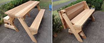 Building Plans For Picnic Table Bench by Folding Picnic Table Diy Out Of 2x4 Lumber Introduction And