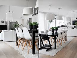 Teak Dining Room Table And Chairs by Chair Scandinavian Inspired Dining Room Table Eames Chairs Set