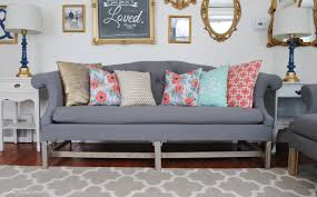 tufted sofa how to reupholster a sofa