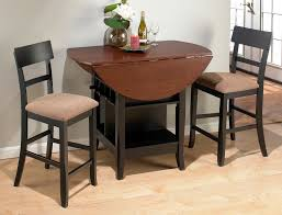 jofran brown and cherry counter height dinette set