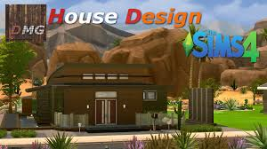 Home Design Pc Game Download The Sims 4 Modern Designer Small House Youtube