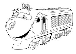free printable chuggington coloring page printable coloring