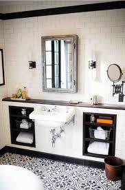 Black And White Small Bathroom Ideas Best 20 White Tile Bathrooms Ideas On Pinterest Modern Bathroom