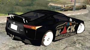 lexus lfa android wallpaper lexus lfa street edition djarum black for gta san andreas