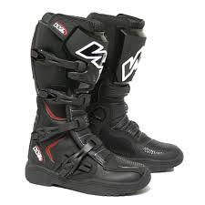 motocross half boots e mx8 motocross boots black