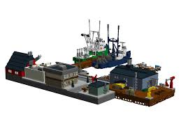 lego ideas new england fishing village