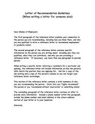 Example Of A Good Work Reference Letter Cover Templates