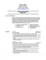 Hr Resume Samples India  Level Hr Generalist Resume Entry Level HR