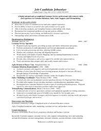 Sample Resume For Customer Service Representative Telecommunications by Customer Service Call Center Resume
