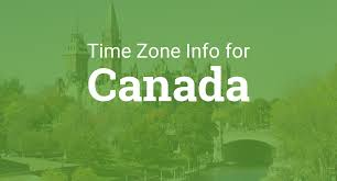 Time Zone Map United States by Time Zones In Canada