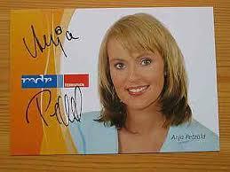 MDR Fernsehmoderatorin Anja Petzold - Autogramm! - 7912347