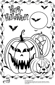 printable halloween worksheets halloween pumpkins coloring pages getcoloringpages com