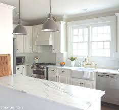 Marble Kitchen Designs Tone On Tone A Kitchen Makeover