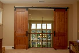 Interior Frameless Glass Door by Spice Up Your Home With Interior Sliding Doors Ward Log Homes