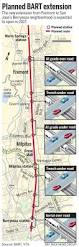 San Francisco Bart Map Bart Extension To San Jose Is Moving Right Along U2013 The Mercury News