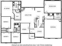 Single Story Open Concept Floor Plans Bill Beazley Floor Plans Bill Beazley Homes Can Make Finding That