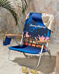 Tommy Bahamas Chairs Sunset Palms Deluxe Backpack Beach Chair From Tommybahama Com