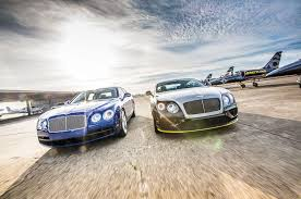 sky u0027s the limit bentley flying spur meets the breitling jet team