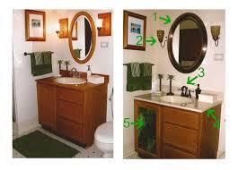Bathroom Vanity Door Replacement by While Wearing Heels Quick Bathroom Updates