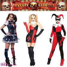 new gothic gotham harley quinn jokers womens halloween