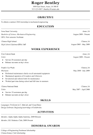 Resume Sample Format For Seaman by Examples Of Internship Resume For Engineering