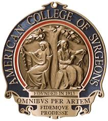Fellow of the American College of Surgeons.  Click on image for details.