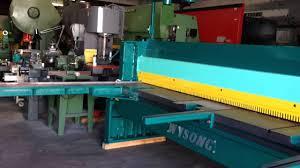 100 wysong hydraulic press brake manual machinery videos of