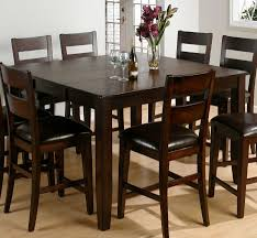 dining tables 5 piece round counter height dining set 9 piece