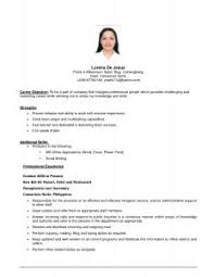 How To Write Job Resume by Examples Of Resumes Resume Performa Download Format U0026amp