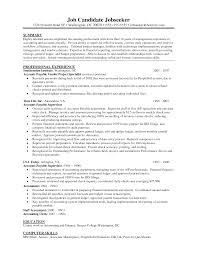 objective in resume examples accounts receivable resume objective jianbochen com sample resume accounts payable resume cv cover letter