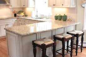 u shaped kitchen with center island granite top material kitchen