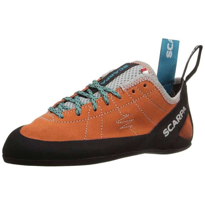 Scarpa Helix Climbing Shoes Mandarin Red Medium 38.5 70005/002-Mred-38.5