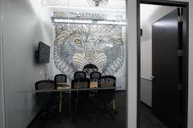 Wolf Mural by Mobify Wolf Den Boardroom Mural On Wacom Gallery