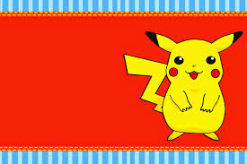 Free Printable Birthday Invitation Cards With Photo Pokemon Free Printable Invitations Oh My Fiesta For Geeks