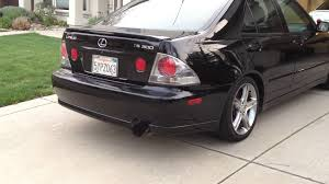 lexus is300 performance upgrades 2004 lexus is300 greddy ti c catback exhaust w rs titanium tip