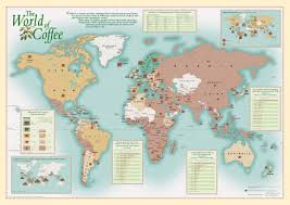 Peters Projection World Map by Promotional Wall Maps Oxford Cartographers