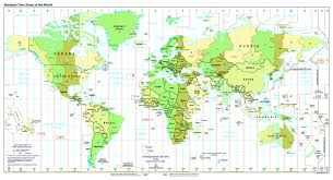 Time Zone Map United States Of America by Maps Of The World World Maps Political Maps Geographical Maps
