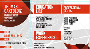 Examples of Creative Graphic Design Resumes Infographics     Brefash