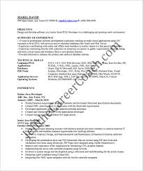Best Java Developer Resume by Resume Java Developer Objective Resume Ixiplay Free Resume Samples