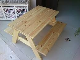 Plans For Wood Picnic Table by Best 25 Build A Picnic Table Ideas On Pinterest Diy Picnic