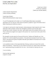 Sample Cover Letter For Warehouse Job