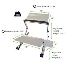 Affordable Sit Stand Desk by Workez Standing Desk Conversion Kit Adjustable Ergonomic Sit To